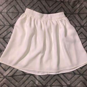 White Tobi skirt